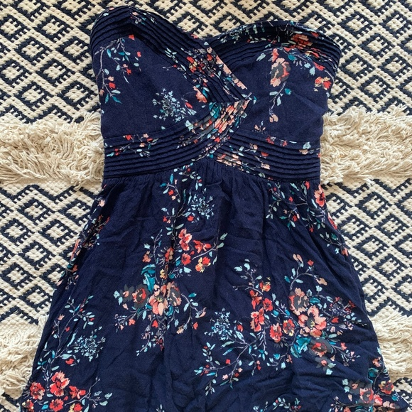 Kimchi Blue Dresses & Skirts - urban outfitters strapless floral dress